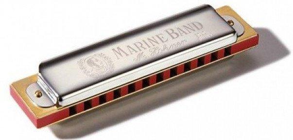 Губна гармошка Hohner M36501 Marine Band 365 С