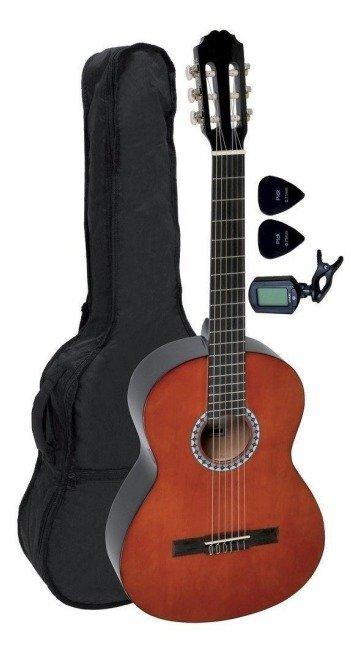 Класична гітара GEWApure Basic 4/4 (Walnut) + чохол + тюнер + медіатори