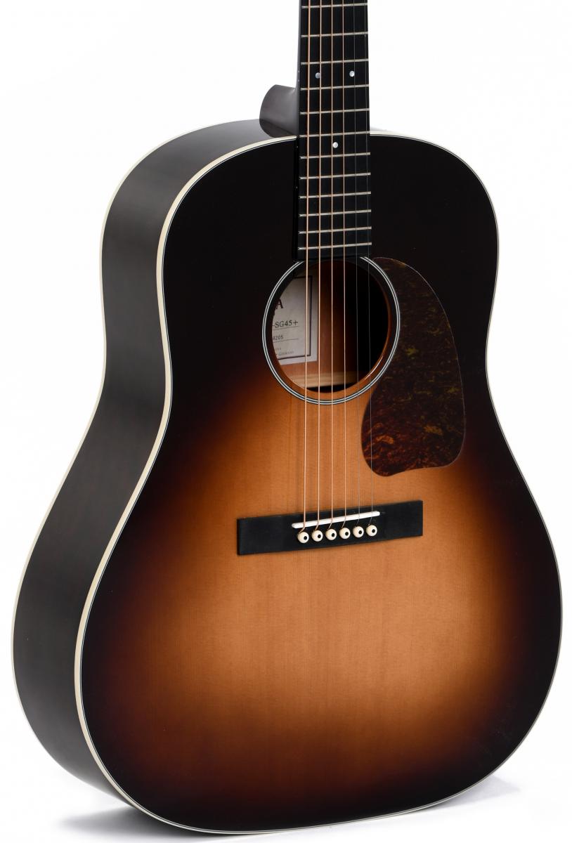 Акустична  гітара Sigma JM-SG45 (з м'яким кейсом)