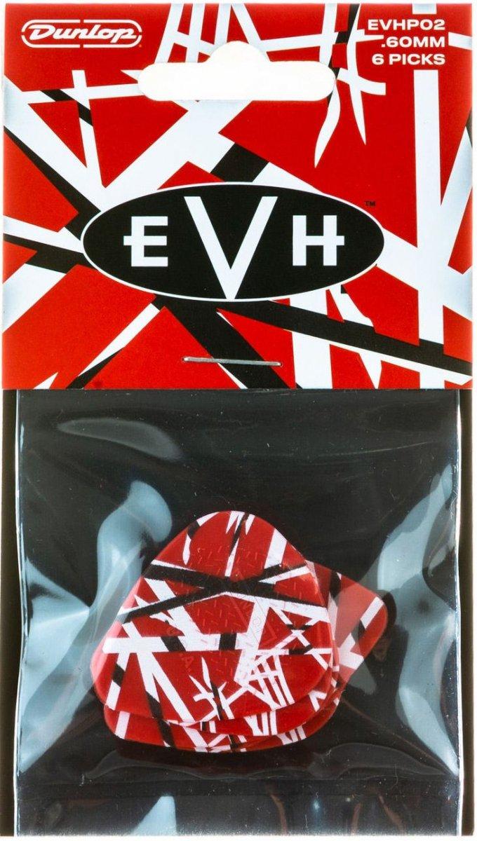 Медіатори Dunlop EVH FRANKENSTEIN PICK TIN (6шт.)