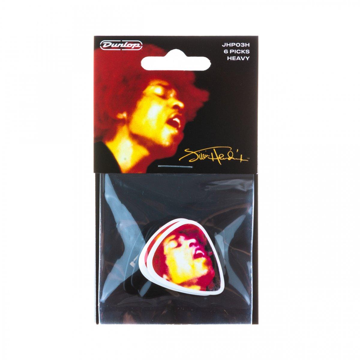 Медіатори Dunlop JHP03H Jimi Hendrix AELECTRIC LADYLAND PICK