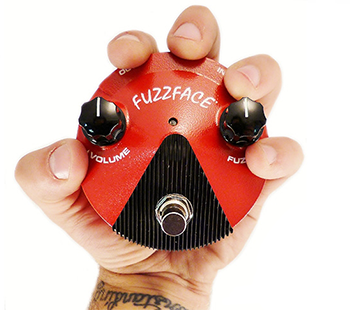 Dunlop Fuzz Face Mini Silicon FFM2