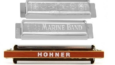 Hohner Marine Band 1896 covers